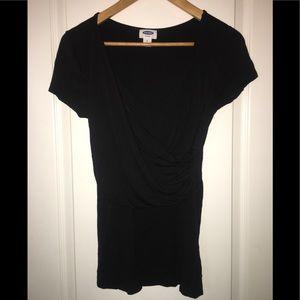 Old Navy Black Nursing Shirt